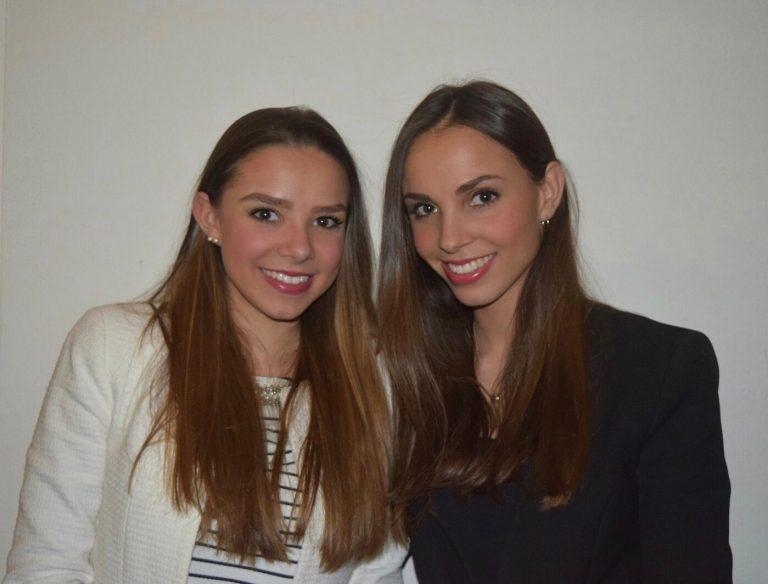 Foto Lorena (links) und Tatjana (rechts)