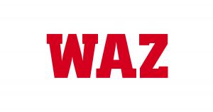 waz logo (deutschlands größte regionalzeitung)